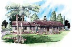Country Style Floor Plans Plan: 46-506