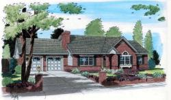 Traditional Style House Plans Plan: 46-507