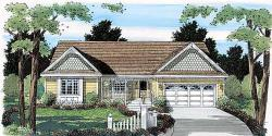 Traditional Style Home Design Plan: 46-512