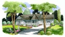 Southern Style House Plans Plan: 46-515