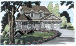 Victorian Style Home Design Plan: 46-519