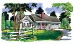 Country Style Floor Plans Plan: 46-520