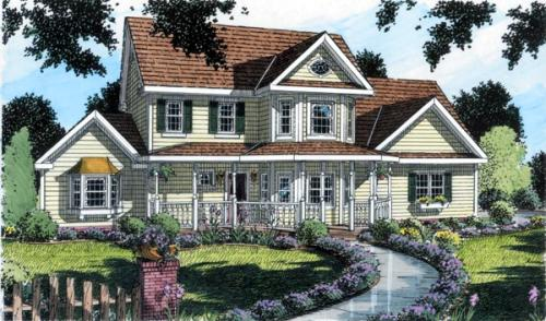 Southern Style House Plans Plan: 46-532