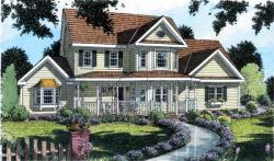 Southern Style Home Design Plan: 46-532