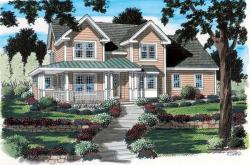 Traditional Style Home Design Plan: 46-533