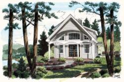 Traditional Style House Plans Plan: 46-536