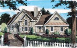 Traditional Style House Plans Plan: 46-540
