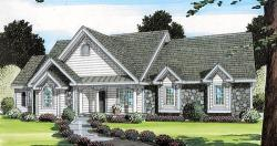 Traditional Style Home Design Plan: 46-541