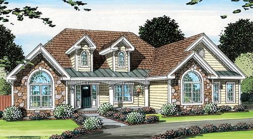 Traditional Style House Plans Plan: 46-543