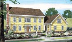 Colonial Style House Plans Plan: 46-544