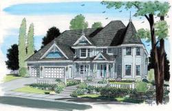 Victorian Style Home Design Plan: 46-546