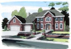 Traditional Style Home Design Plan: 46-547