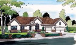 Traditional Style Home Design Plan: 46-548