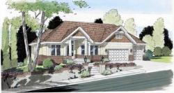 Traditional Style Home Design Plan: 46-550