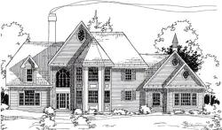 Traditional Style Floor Plans Plan: 46-555