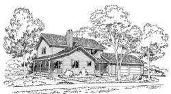 Country Style House Plans Plan: 46-573