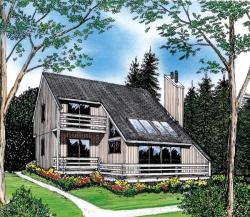 Contemporary Style Floor Plans Plan: 46-576
