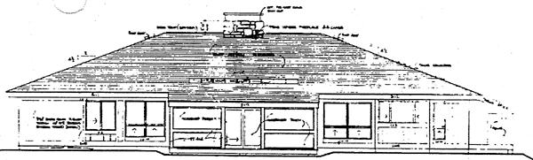 Rear Elevation Plan: 46-581