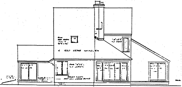 Rear Elevation Plan: 46-583