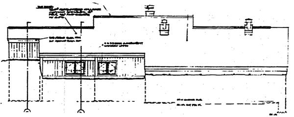 Rear Elevation Plan: 46-584