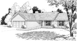 Traditional Style Floor Plans Plan: 46-610