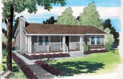 Country Style Floor Plans Plan: 46-611