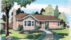 Traditional Style Floor Plans Plan: 46-612