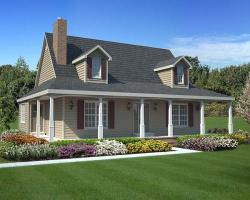Country Style House Plans Plan: 46-616
