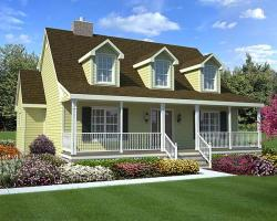 Country Style House Plans Plan: 46-617