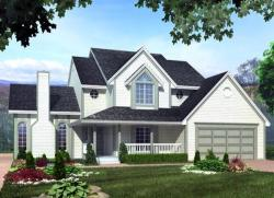 Traditional Style House Plans Plan: 46-630