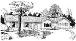 Traditional Style Home Design Plan: 46-631