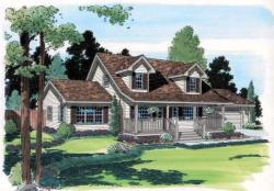 Traditional Style House Plans Plan: 46-635