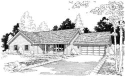 Traditional Style Floor Plans Plan: 46-636