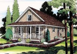 Cottage Style Floor Plans Plan: 46-640