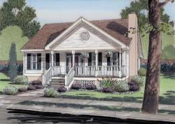 Traditional Style House Plans 46-742