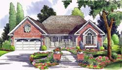 Traditional Style Home Design Plan: 46-750