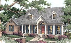 Southern Style House Plans 47-102