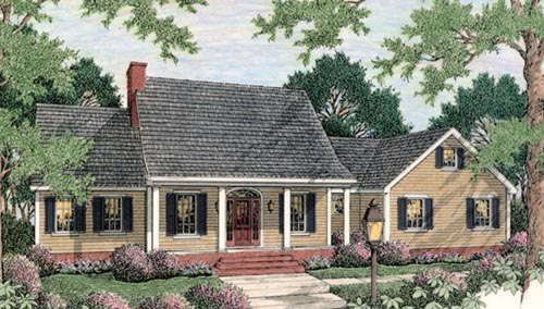 Country Style Floor Plans 47-114