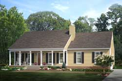 Country Style Home Design 47-122