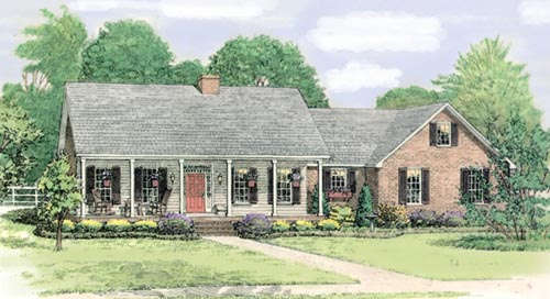 Country Style House Plans 47-129