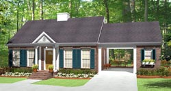 Traditional Style Floor Plans Plan: 47-146