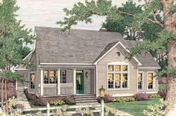 Country Style Floor Plans Plan: 47-164