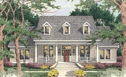 Southern Style House Plans Plan: 47-166
