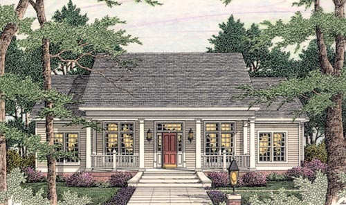 Southern Style Floor Plans 47-182