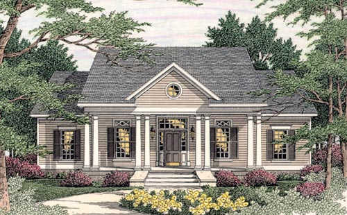 Southern Style House Plans 47-183