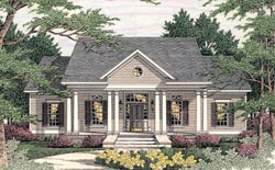 Southern Style Home Design 47-183