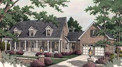 Southern Style House Plans Plan: 47-195