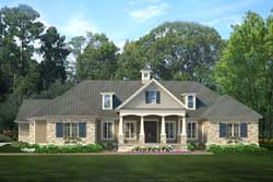 Southern Style House Plans Plan: 47-196