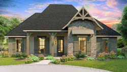 Craftsman Style Floor Plans Plan: 47-209