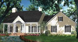 Southern Style Floor Plans Plan: 47-298